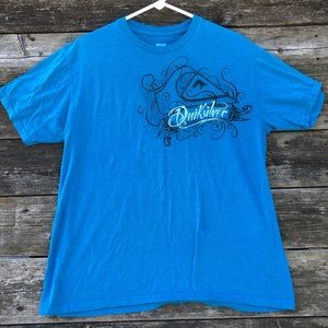 Quiksilver Men's Surfer Blue Surf T Shirt